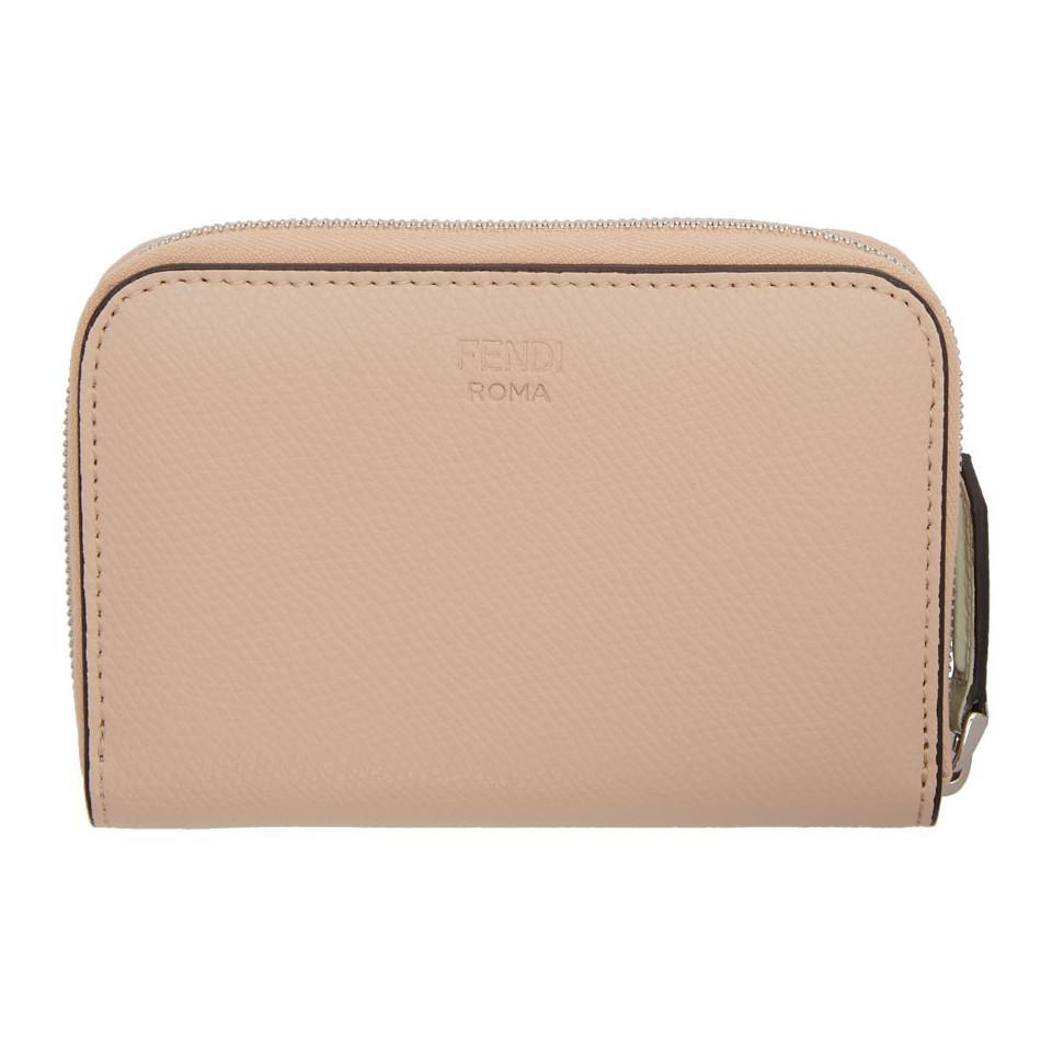 Multicolor Bag Bugs Elite Mini Zip Wallet Fendi 88TnaCDQ