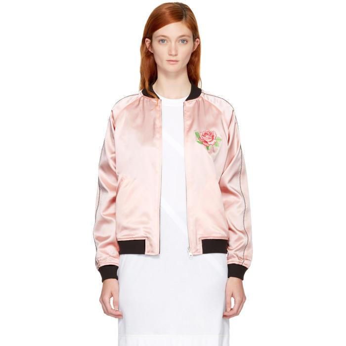 Opening Ceremony Ssense Exclusive Reversible Pink Satin