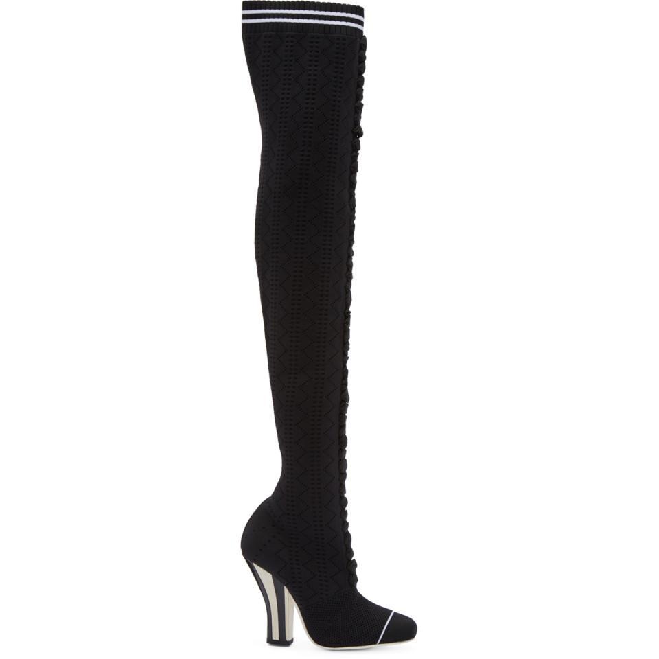 Fendi Scuba Sock Over-the-Knee Boots 0G94jo