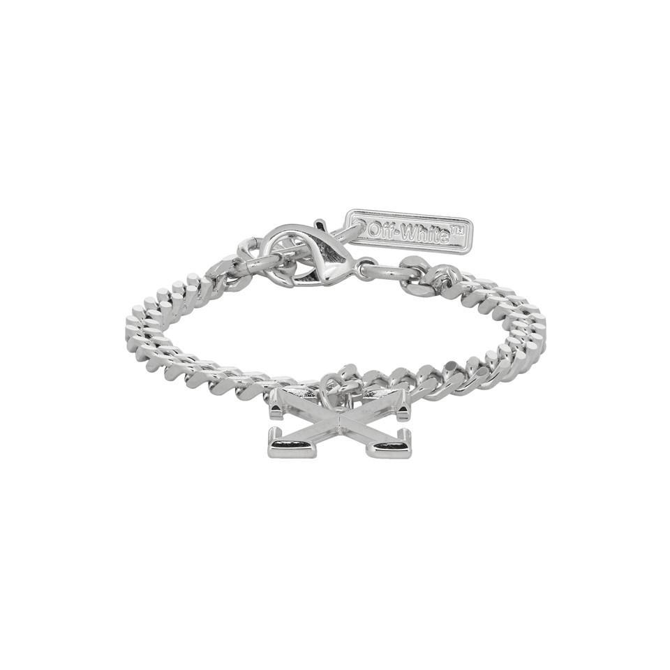 Ssense Exclusive Silver Arrow Bracelet