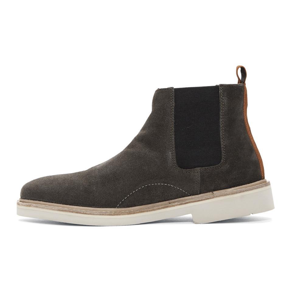 Galant Hombres By H Suede Boots Gris Grey En G6psaqn6 Lyst Para Hudson EIWDYHe29