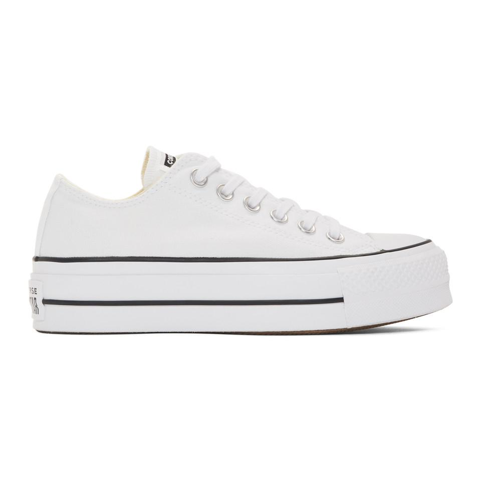 0adcef8ed852 Converse - White Chuck Taylor All Star Lift Platform Sneakers - Lyst. View  fullscreen