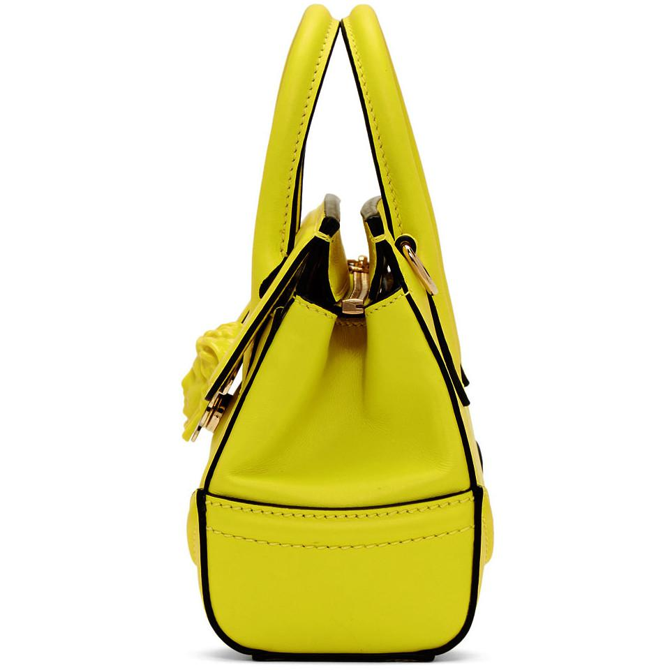 a879fc1faa Versace Yellow Mini Empire Bag in Yellow - Lyst
