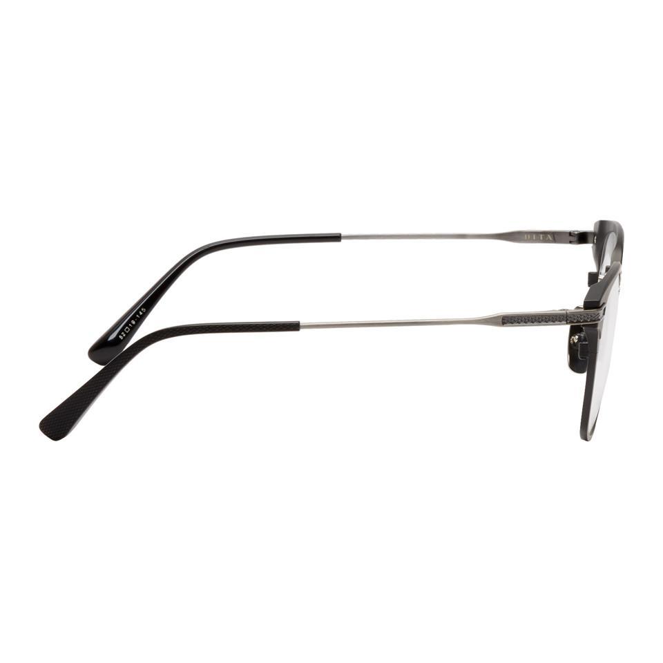 e88d1c7e99c5 Lyst - DITA Black Union Square Glasses in Black for Men