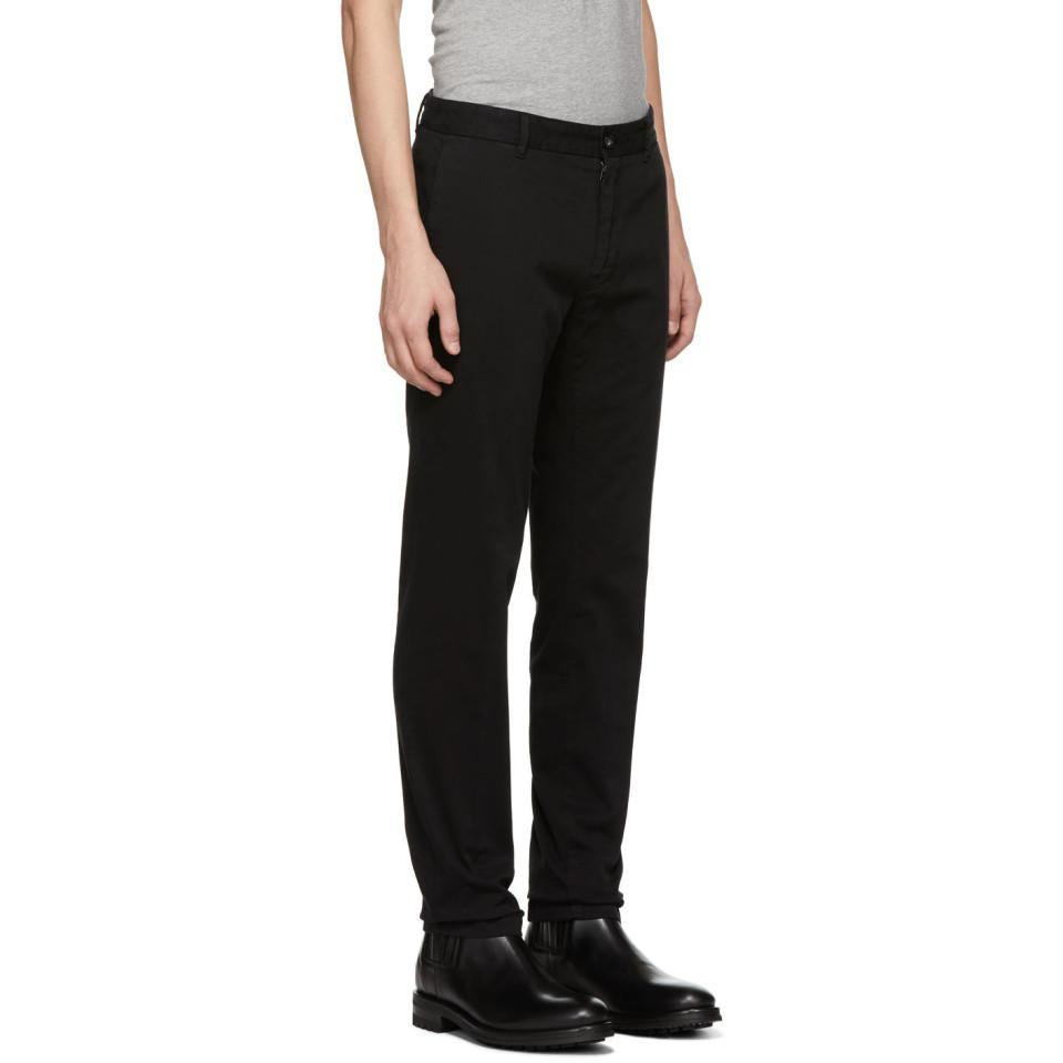 Sweden Of In Black Lyst Todman Trousers Men For Tiger 6aq5x5
