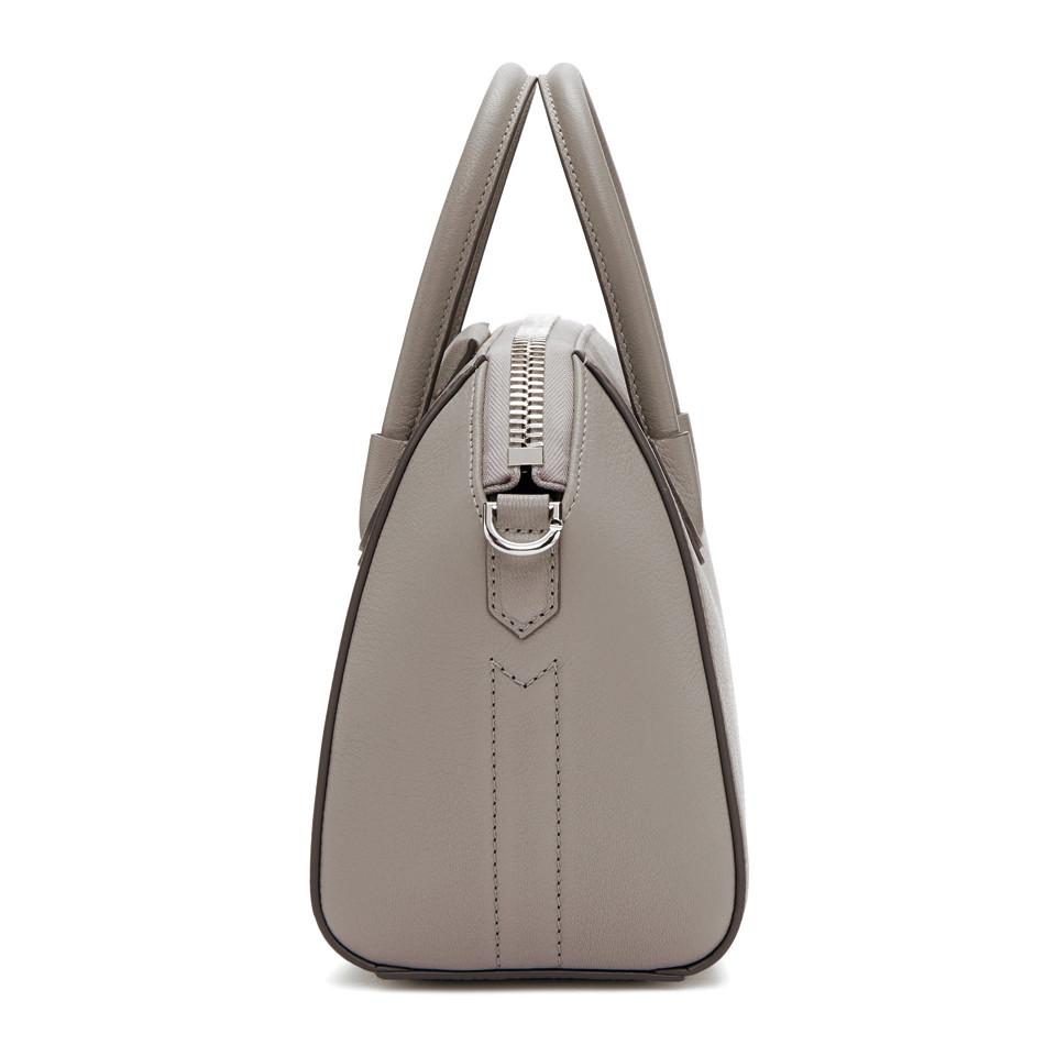 1c4e7d58ed Lyst - Givenchy Grey Mini Antigona Bag in Gray
