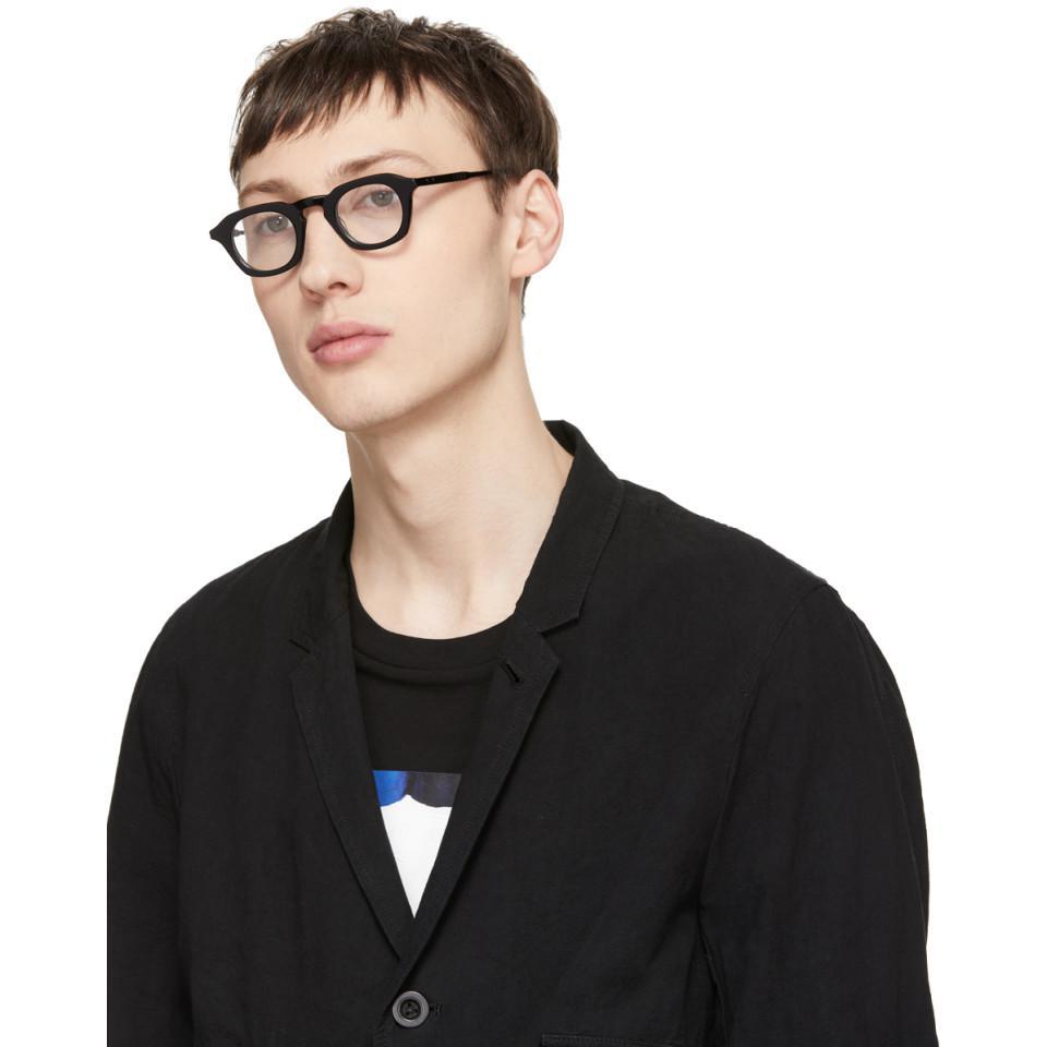 b1476236ce Lyst - Thom Browne Black Tb-414 Glasses in Black for Men