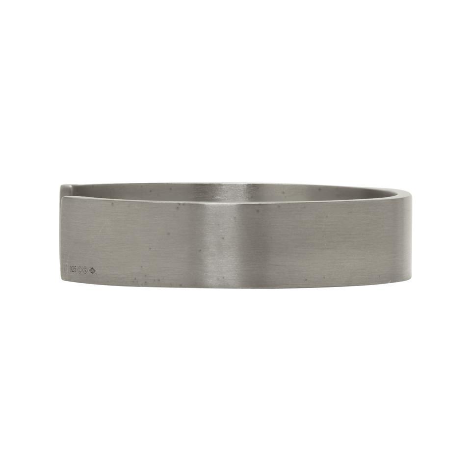 Le Gramme Black Silver Brushed Le 33 Grammes Bracelet k0mWbSIN