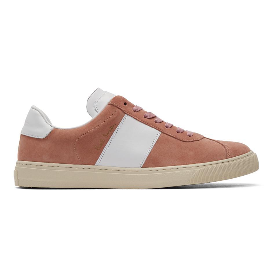 Qualité Supérieure Vente En Ligne Magasin D'alimentation Paul Smith Pink & White Levon Sneakers 100% Garanti À Vendre sneakernews mWXt9T2T