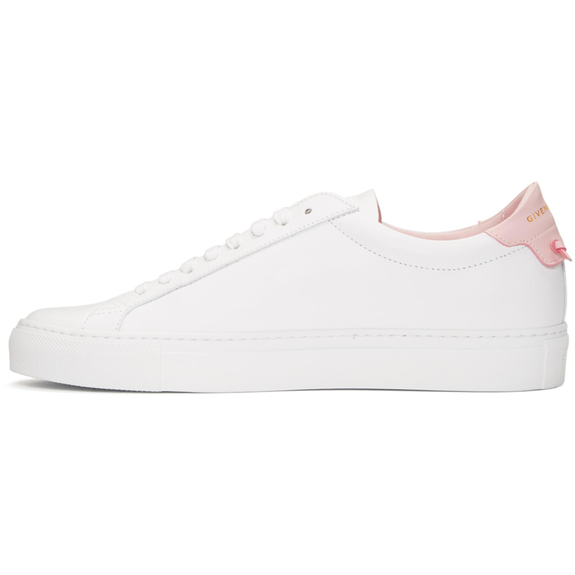 Givenchy Leather White And Pink Urban