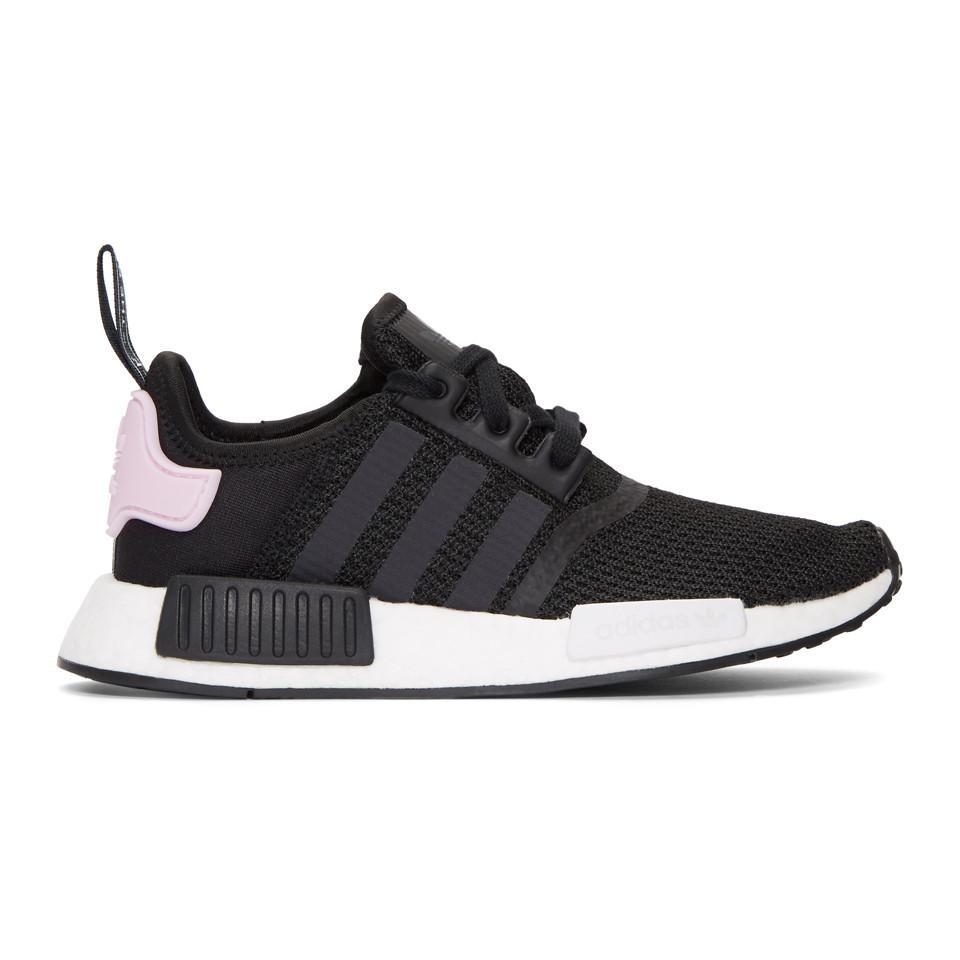 Adidas Originals blanco y negro NMD R1 W zapatillas en negro Lyst