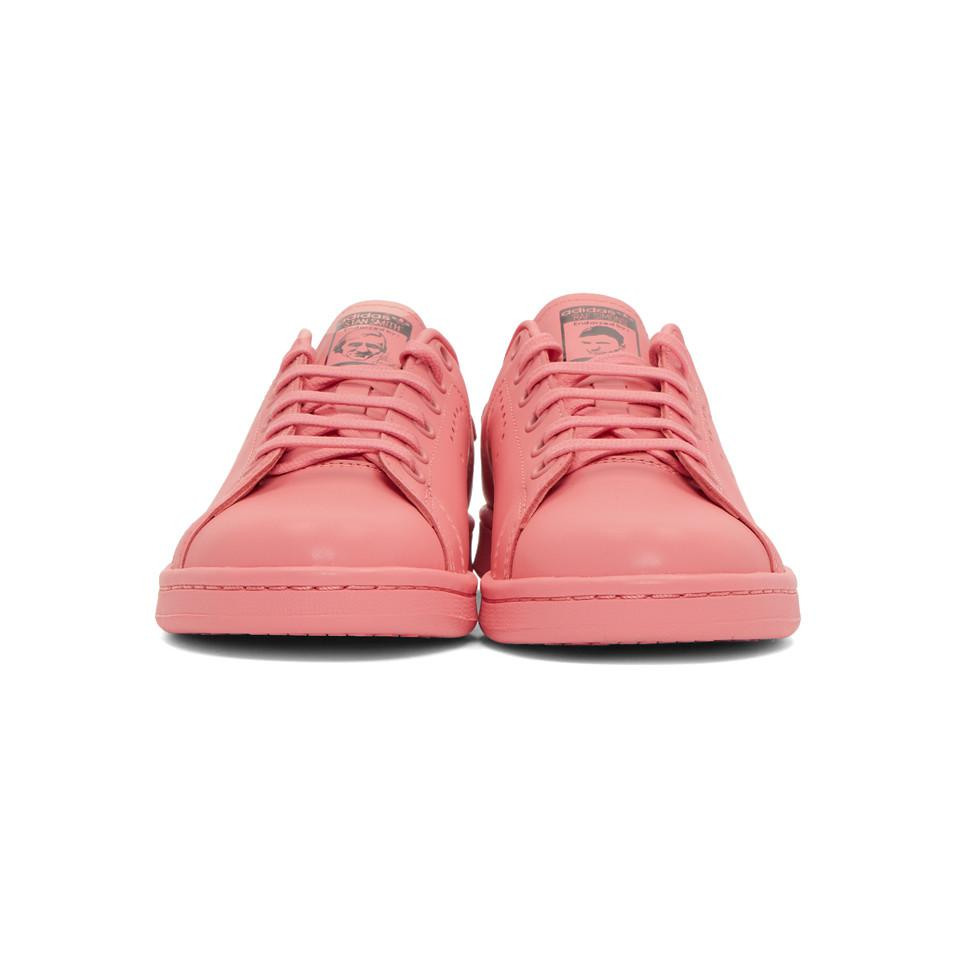 Raf Simons - Pink Adidas Originals Edition Stan Smith Sneakers - Lyst. View  fullscreen bb794b1d4