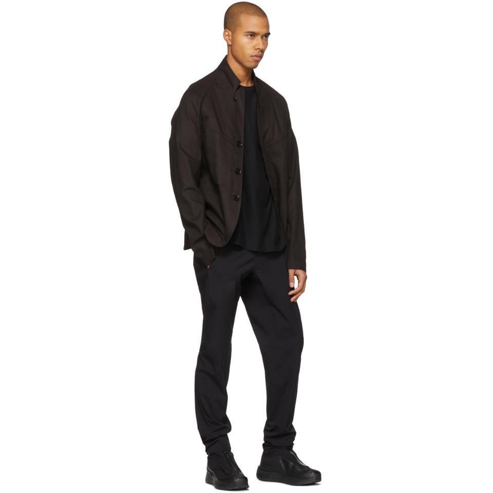 Abasi Rosborough Cotton Black Arc Bdu Jacket for Men