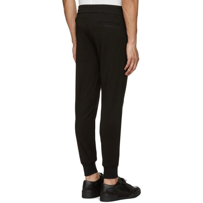 Rochambeau Synthetic Black Bazaar Lounge Pants for Men