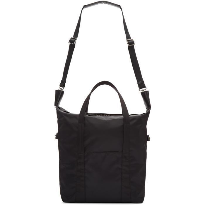 Maison Margiela Synthetic Black Nylon Tote Bag for Men