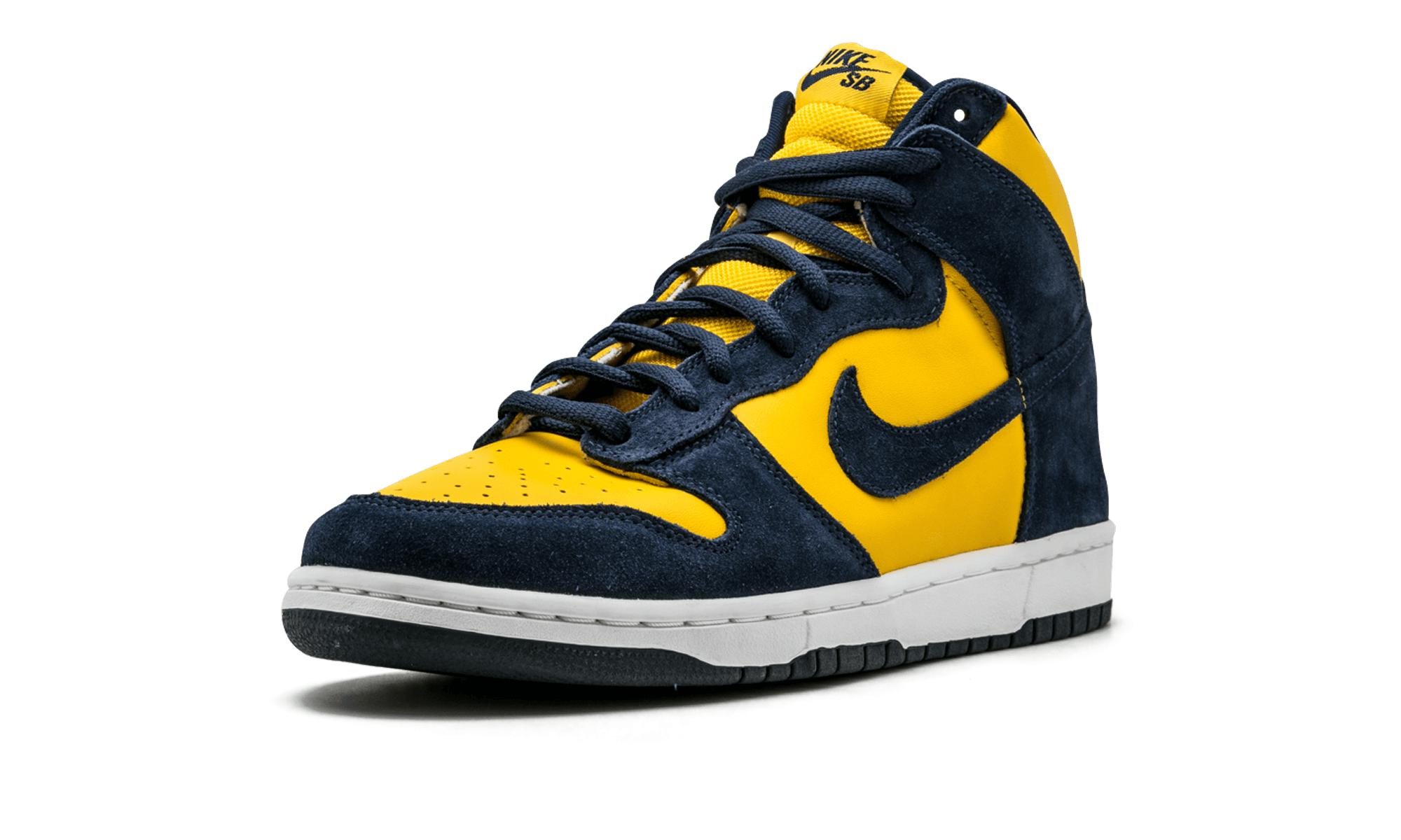 Nike Dunk High Pro Sb in Blue,Yellow (Blue) for Men - Lyst