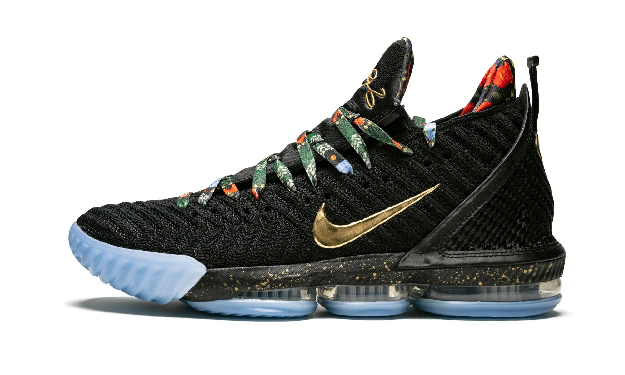 competitive price 91817 21ad6 Nike. Men s Black Lebron 16 Kc