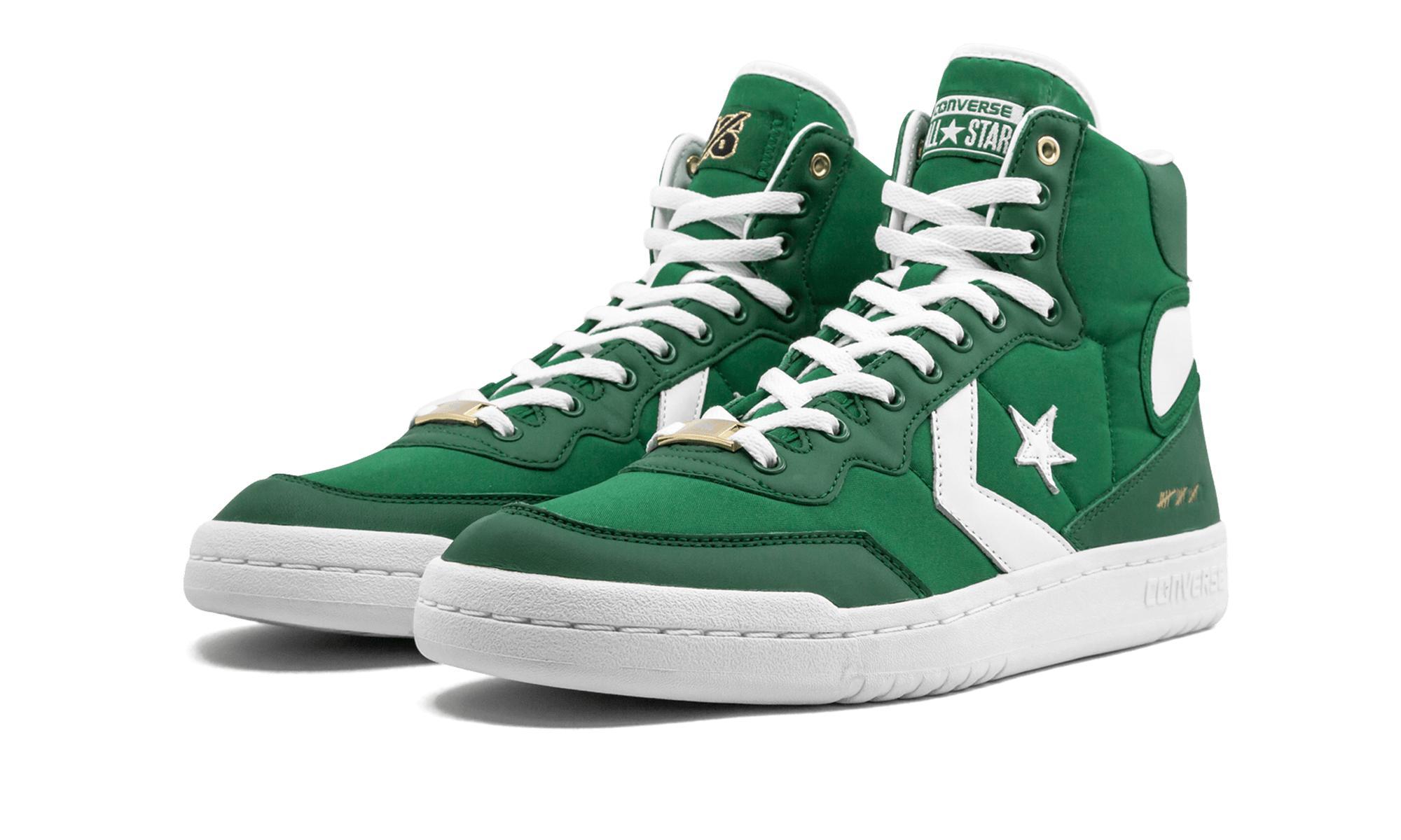 Converse Fastbreak Hi in Green for Men - Lyst b268bc384