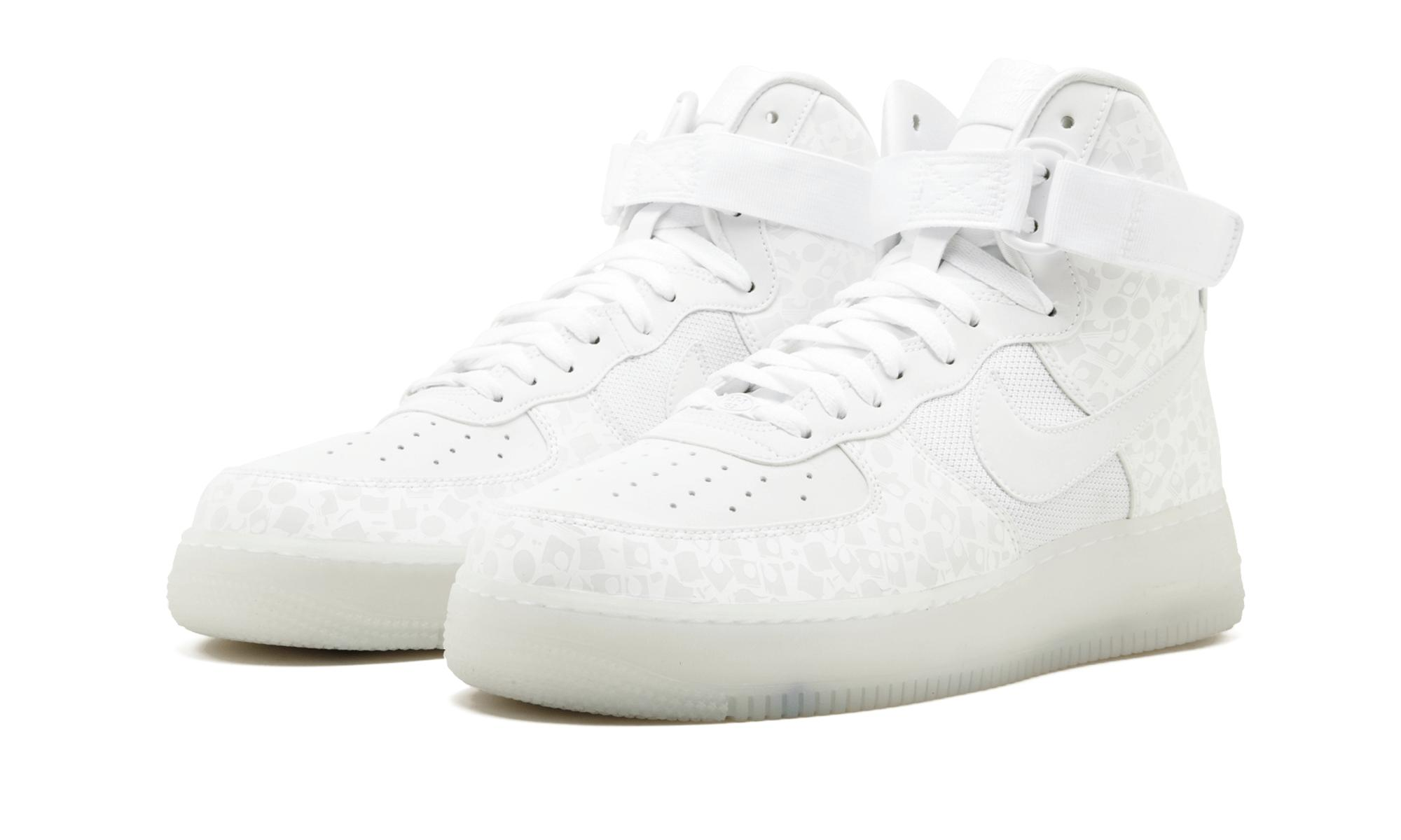 premium selection d77b6 3b0de Men's White Air Force 1 High