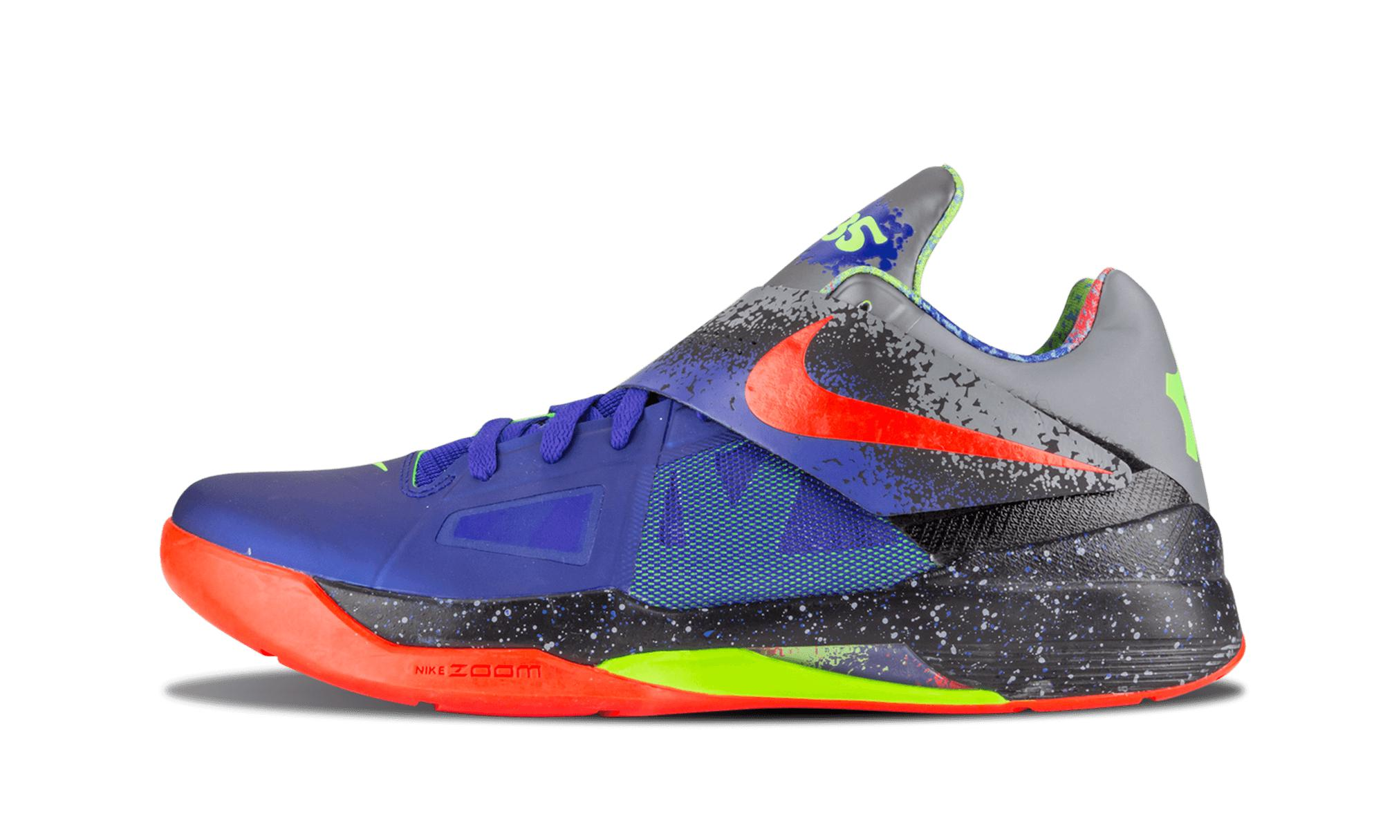 229f41631749 Nike Zoom Kd 4 Concord bright Crimson  nerf  in Blue for Men - Lyst