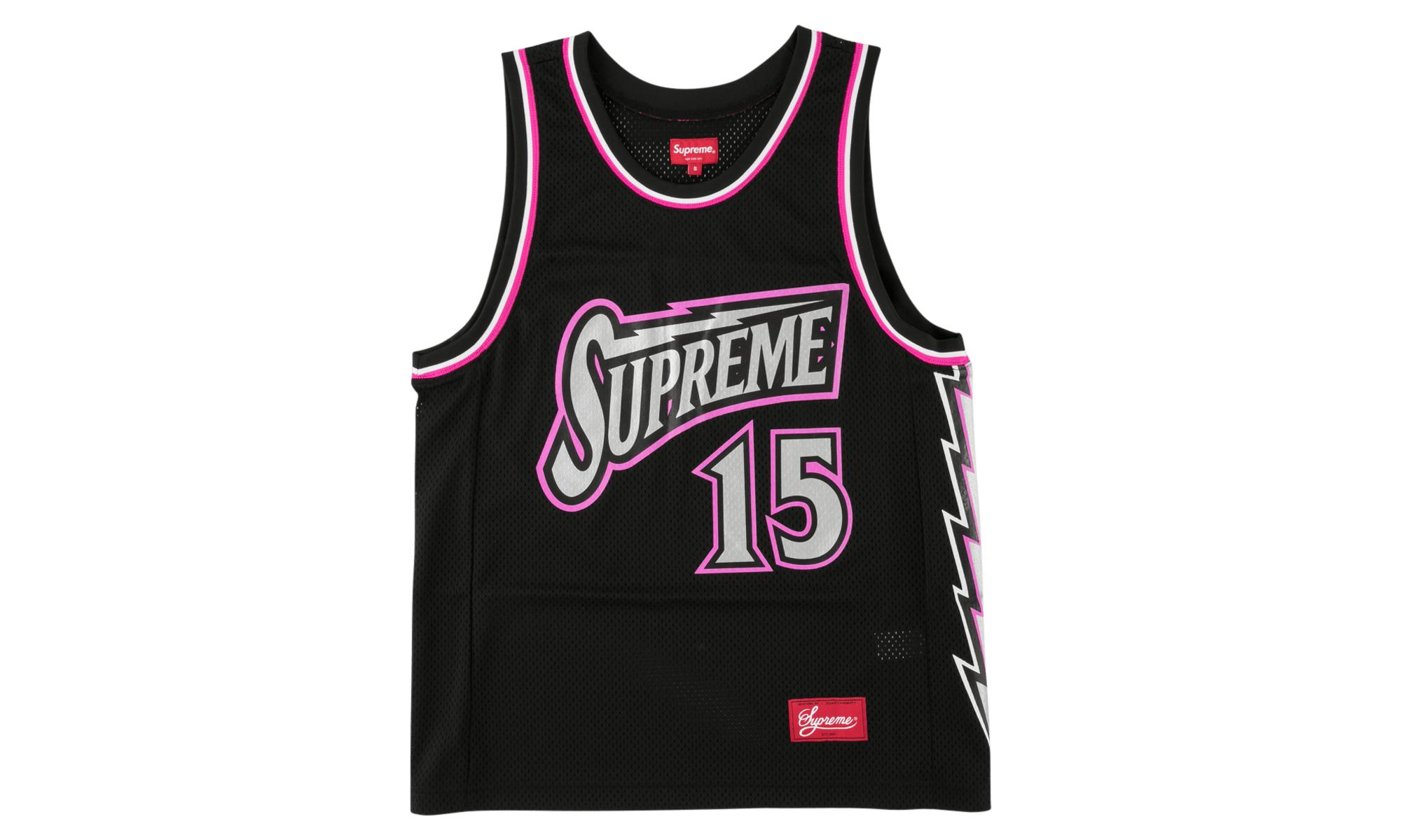 aaab77873e83 Supreme Bolt Basketball Jersey 'ss 18' in Black for Men - Save 10 ...