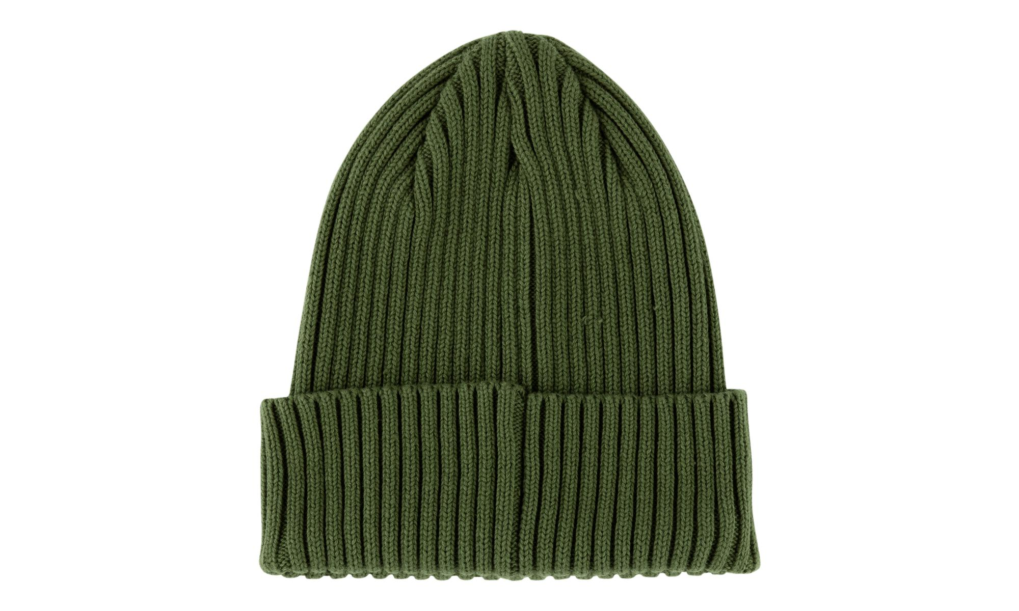 be9e7bb3a22 Supreme - Green Overdyed Ribbed Beanie for Men - Lyst. View fullscreen