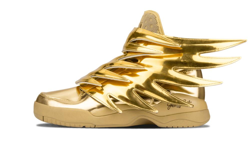 Adidas Js Wings 3 0 Gold Size 5 5 In Metallic For Men Lyst
