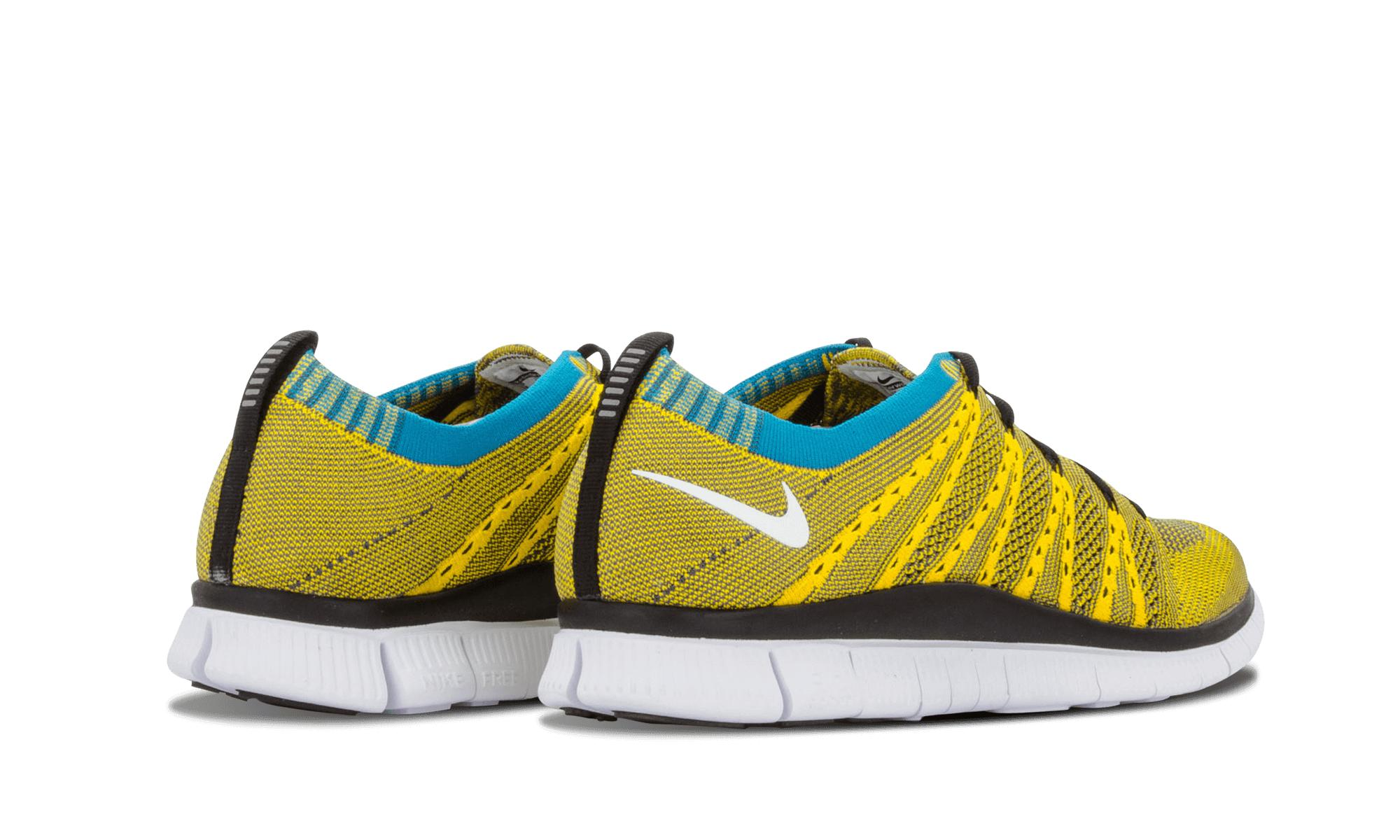 4330b2b3d0965 Nike - Yellow Free Flyknit Htm Sp for Men - Lyst. View fullscreen