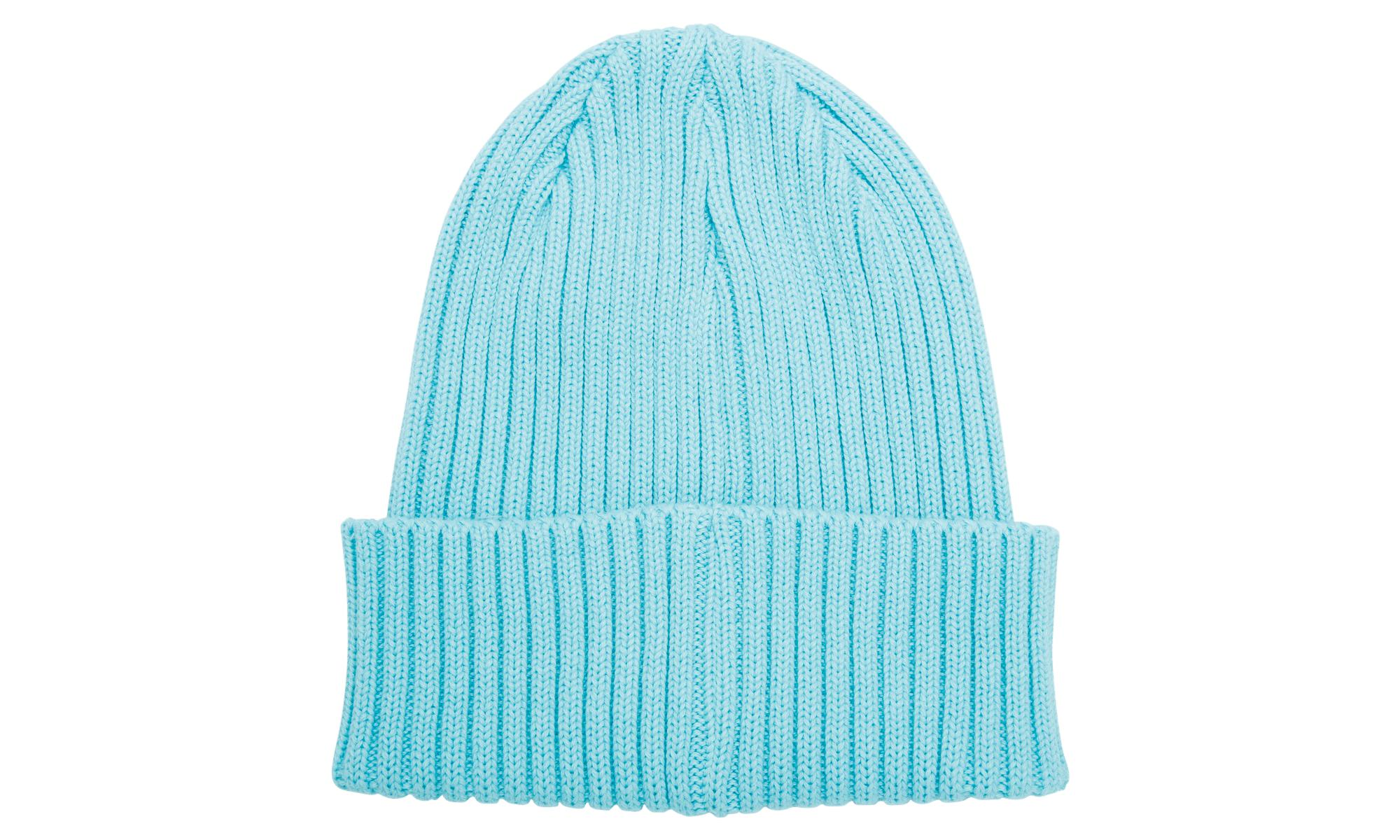 3f70e8e31e8 Supreme Overdyed Ribbed Beanie in Blue for Men - Lyst