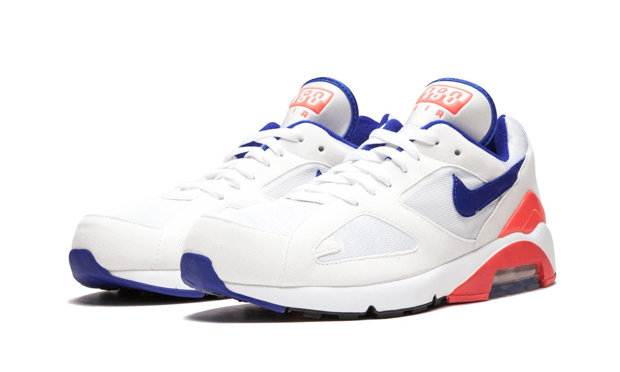 cheap for discount 99929 b442e Nike - White Air Max 180 for Men - Lyst. View fullscreen