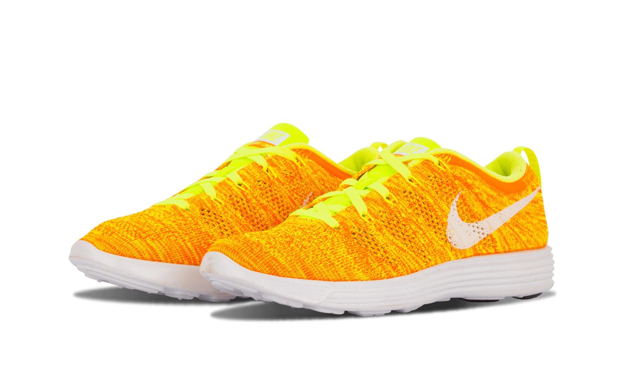 timeless design 7cc5a 8b4ad Lyst - Nike Womens Flyknit Trainer in Yellow