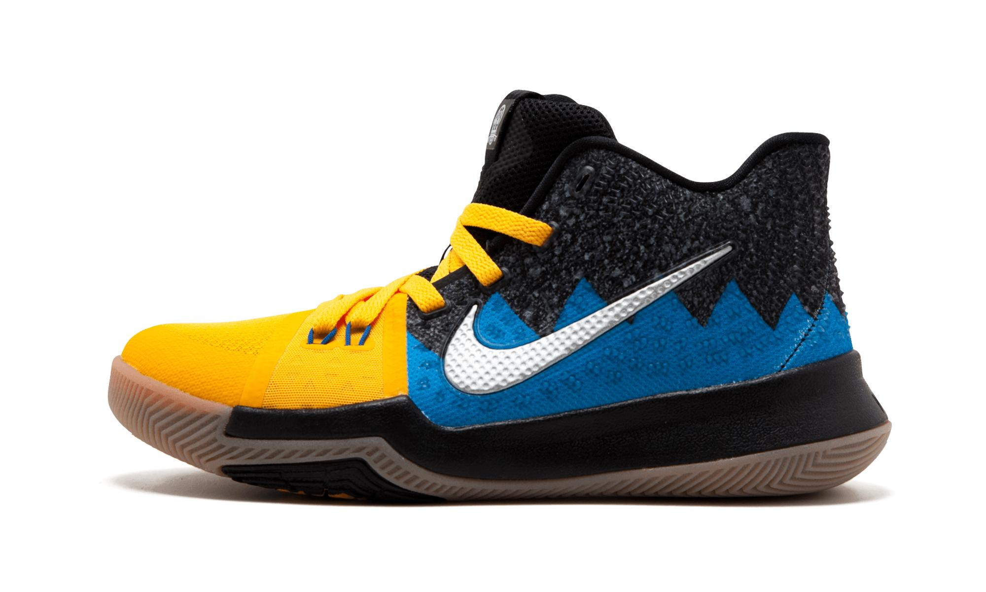 44f58ebd506e Lyst - Nike Kyrie 3 What The (gs) in Blue for Men - Save 1%