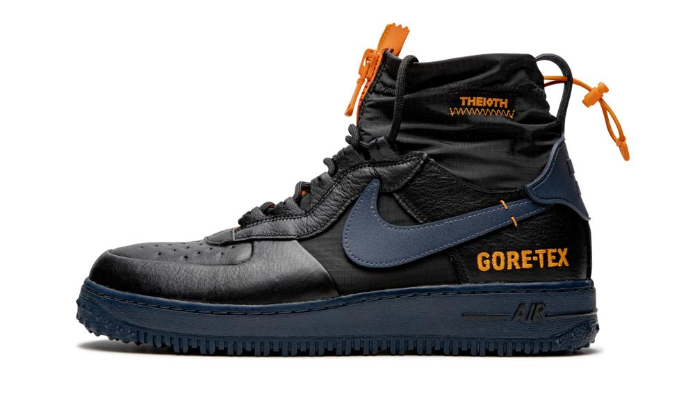 Nike Leather Air Force 1 Gtx - Shoes in Black for Men - Save 43 ...