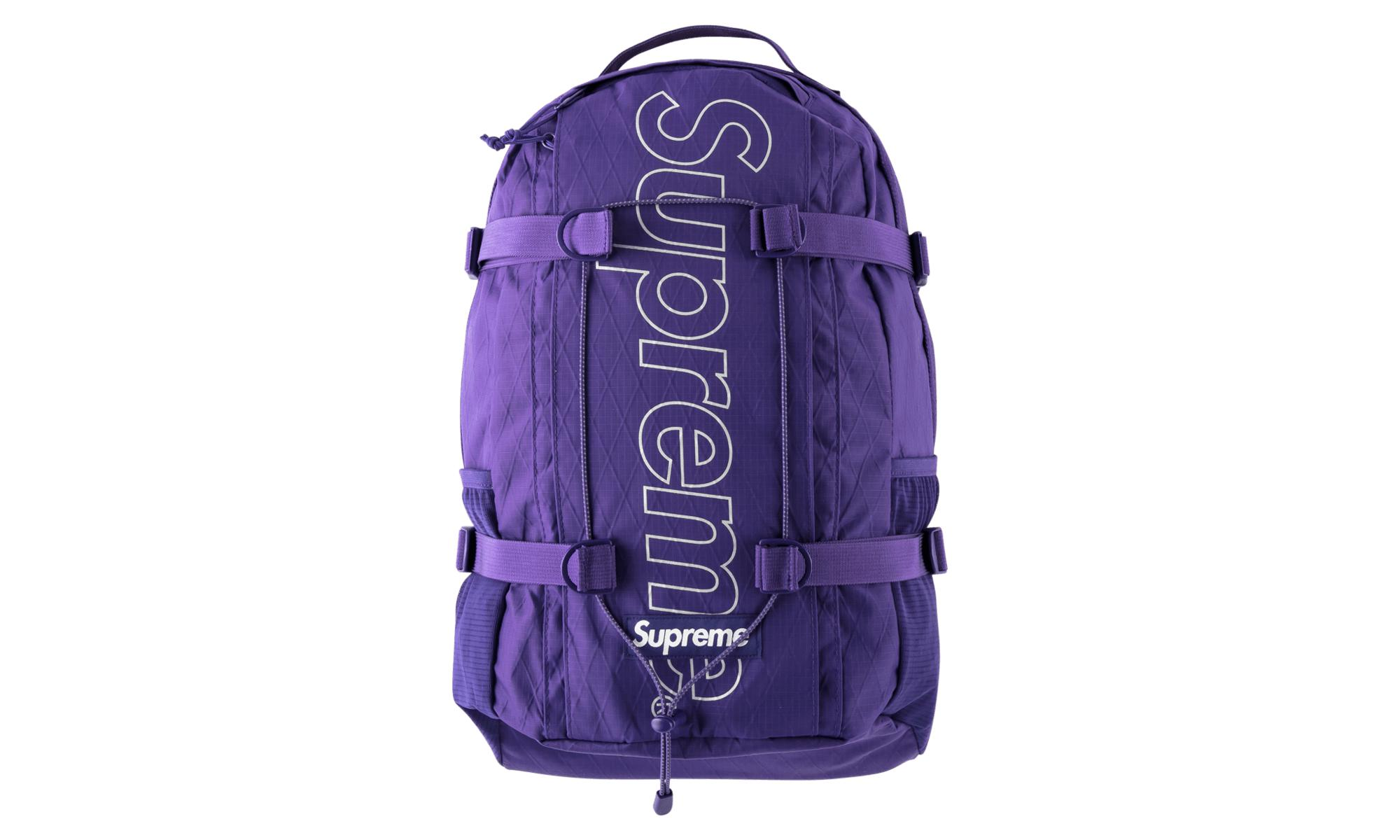 8ba39720e Supreme Purple Backpack 'fw 18' for men
