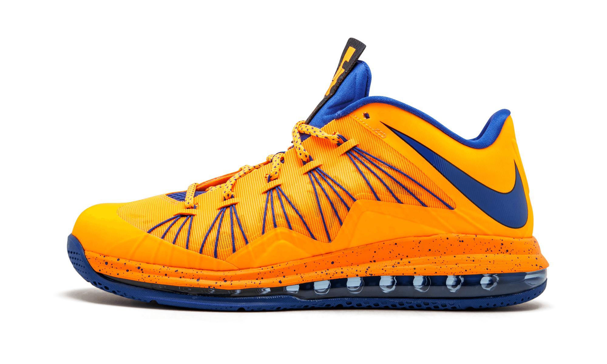 best service 80133 50494 Nike. Men s Air Max Lebron 10 Low Bright Citrus hyper Blue