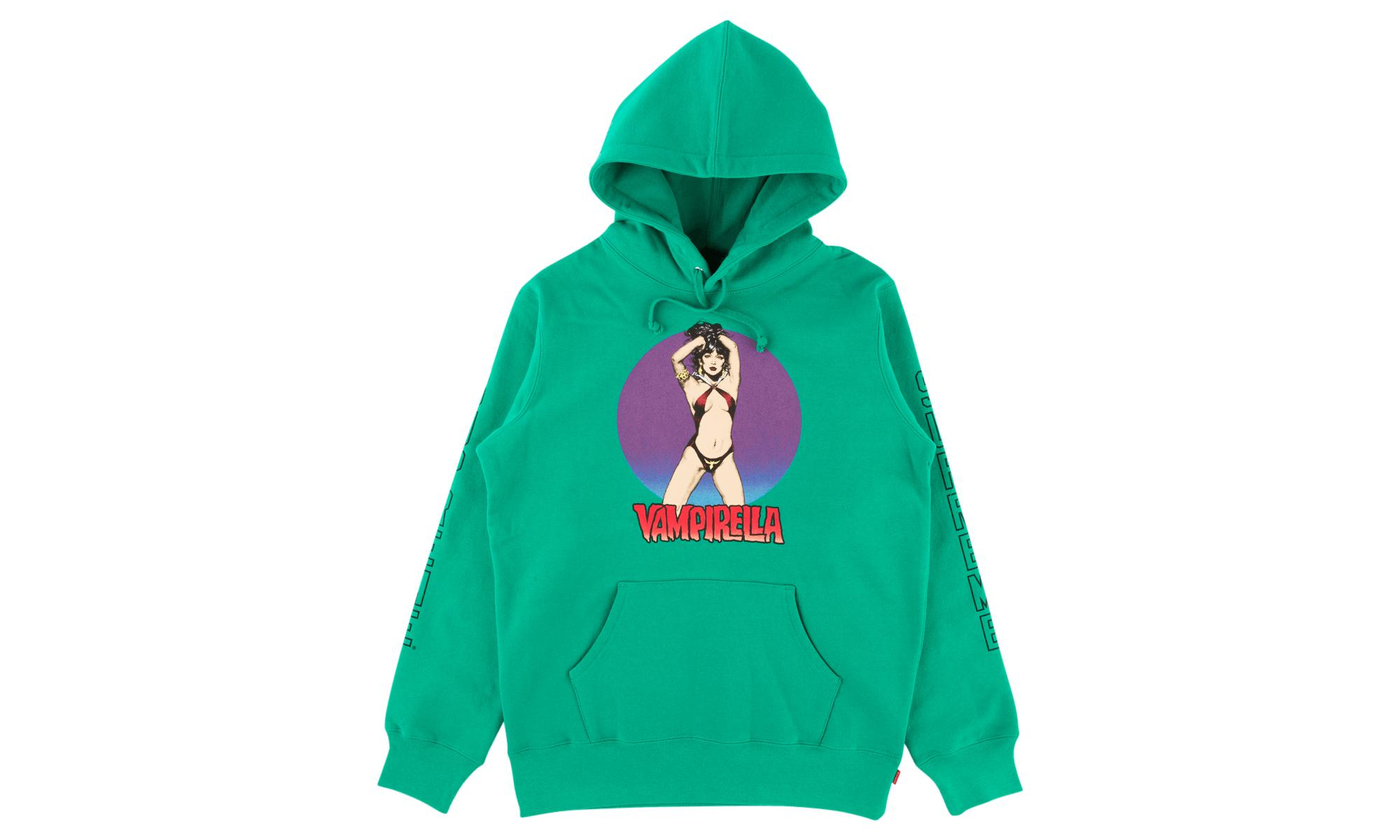 3ffb0be30a68 Lyst - Supreme Vampirella Hooded Sweatshirt in Green