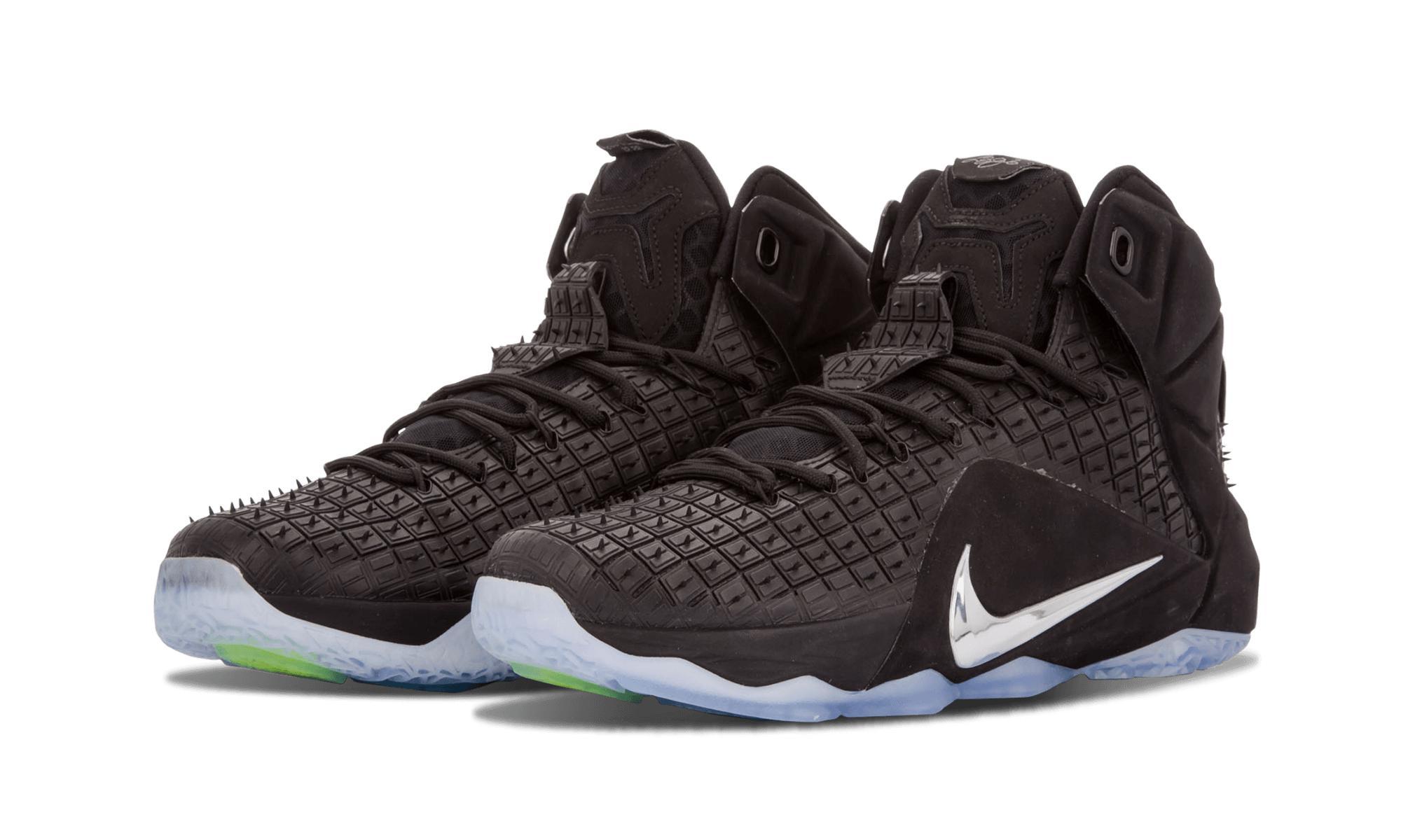 bd068003a4db Nike - Black Lebron 12 Ext Rc Qs for Men - Lyst. View fullscreen