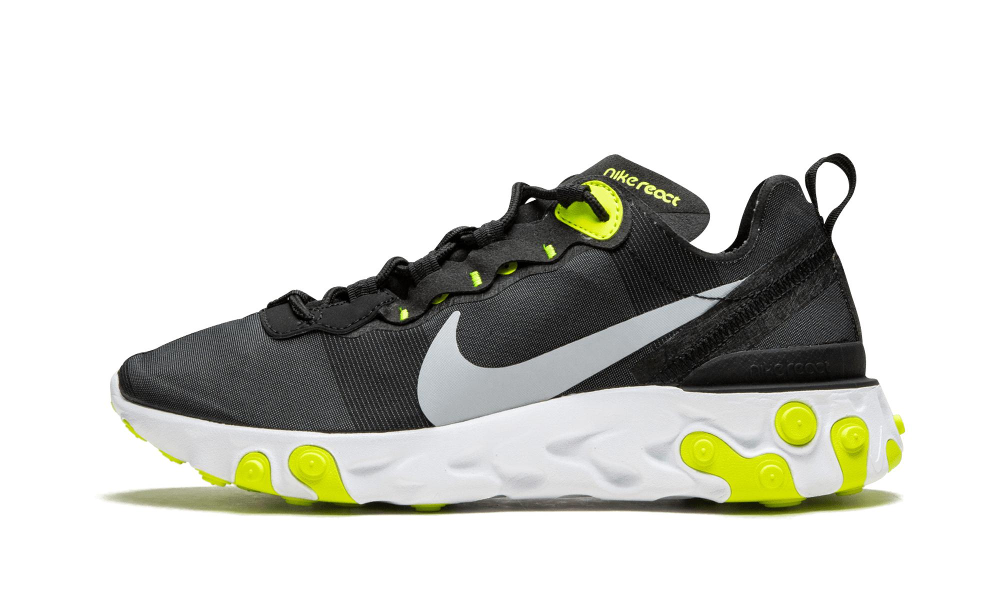 Lyst - Nike Womens React Element 55 in Black for Men 7a53aeb62