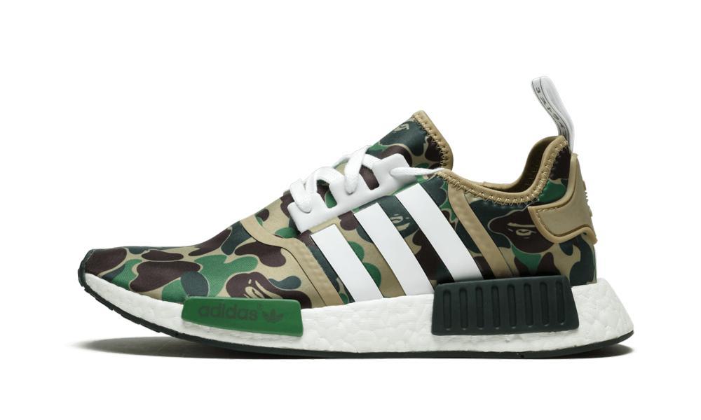 adidas Nmd R1 Bape 'bape in Green Camo