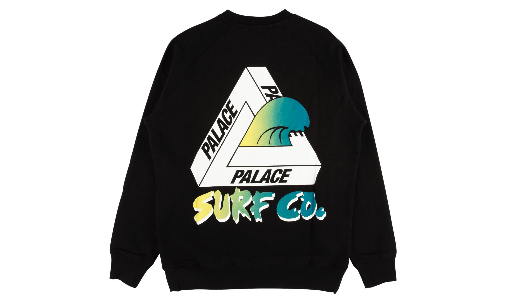 6a7a94c3d3c8 Lyst - Palace Surf Co Crew in Black for Men
