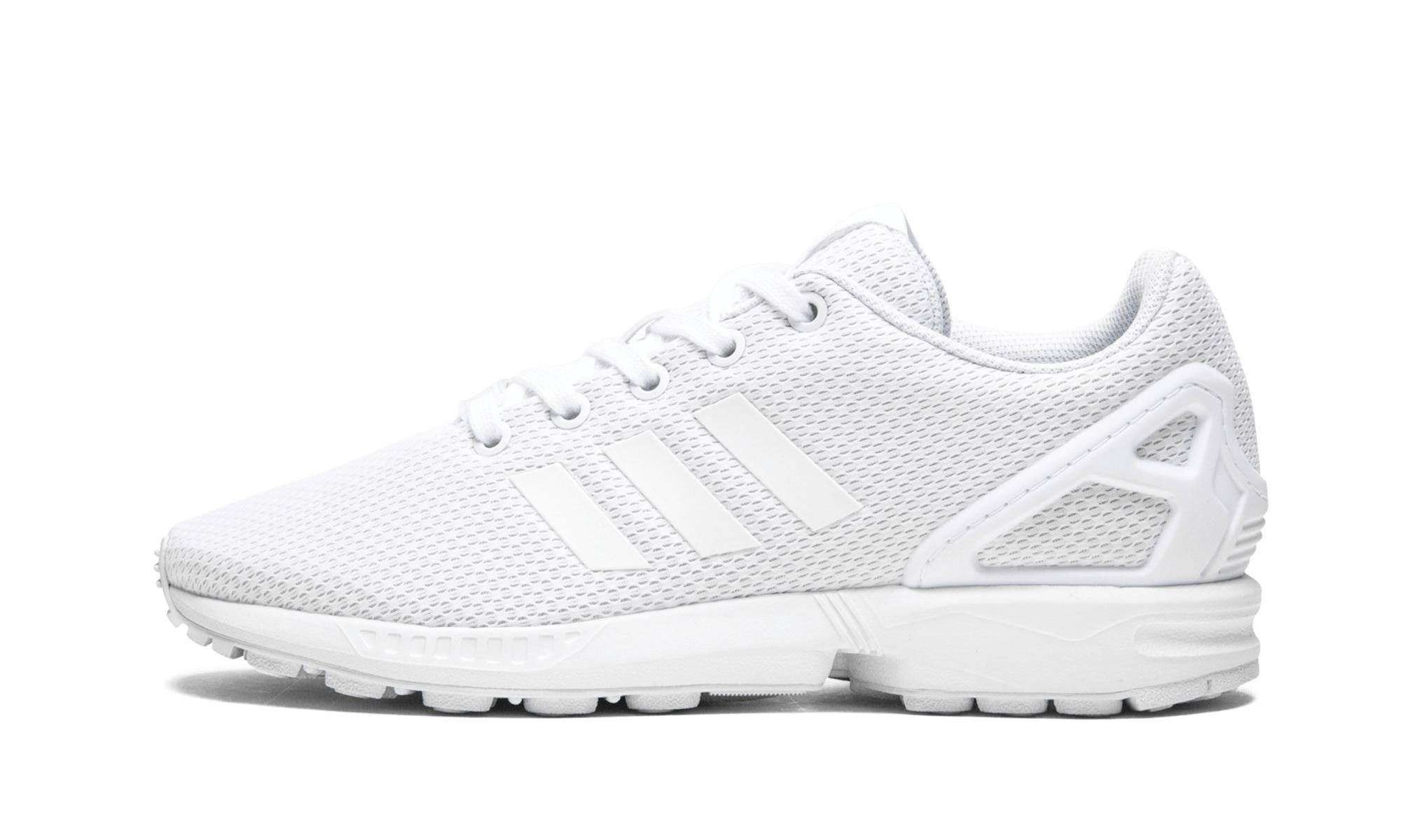 2ee0c4938b2bb adidas Zx Flux J in White for Men - Save 32% - Lyst