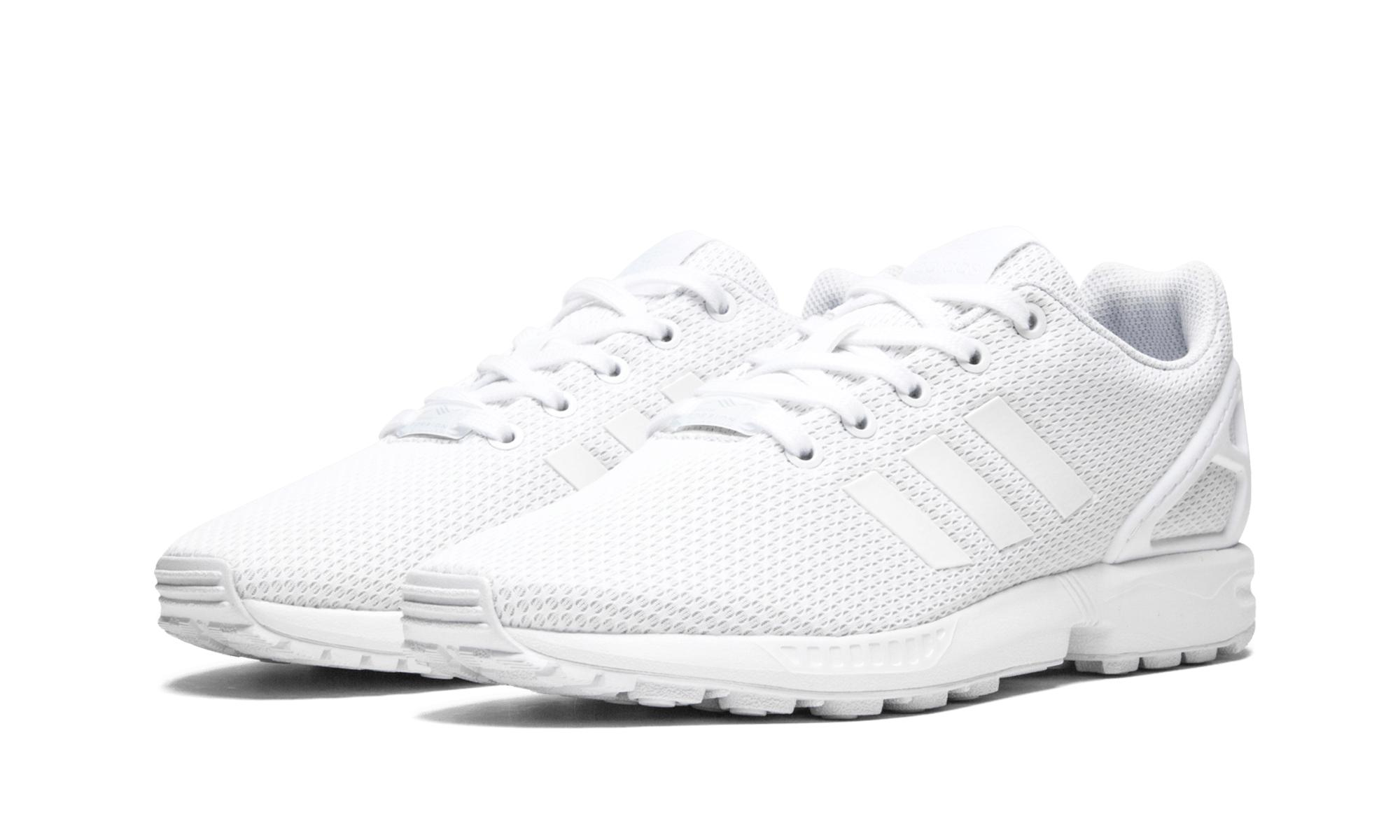 premium selection 43403 94c6d Lyst - adidas Zx Flux J in White for Men - Save 28%