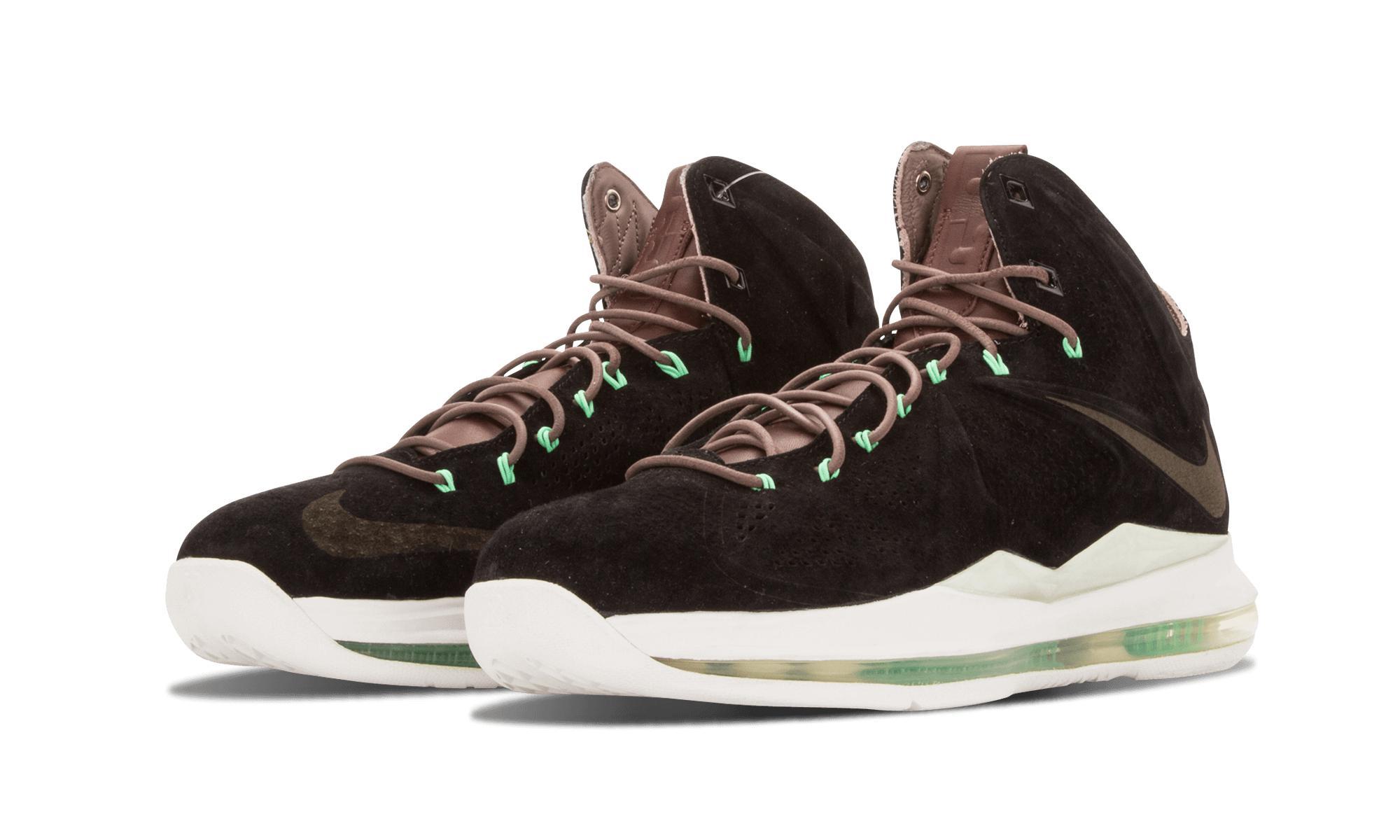 wholesale dealer d817d f0686 Lyst - Nike Lebron 10 Ext Qs in Black for Men