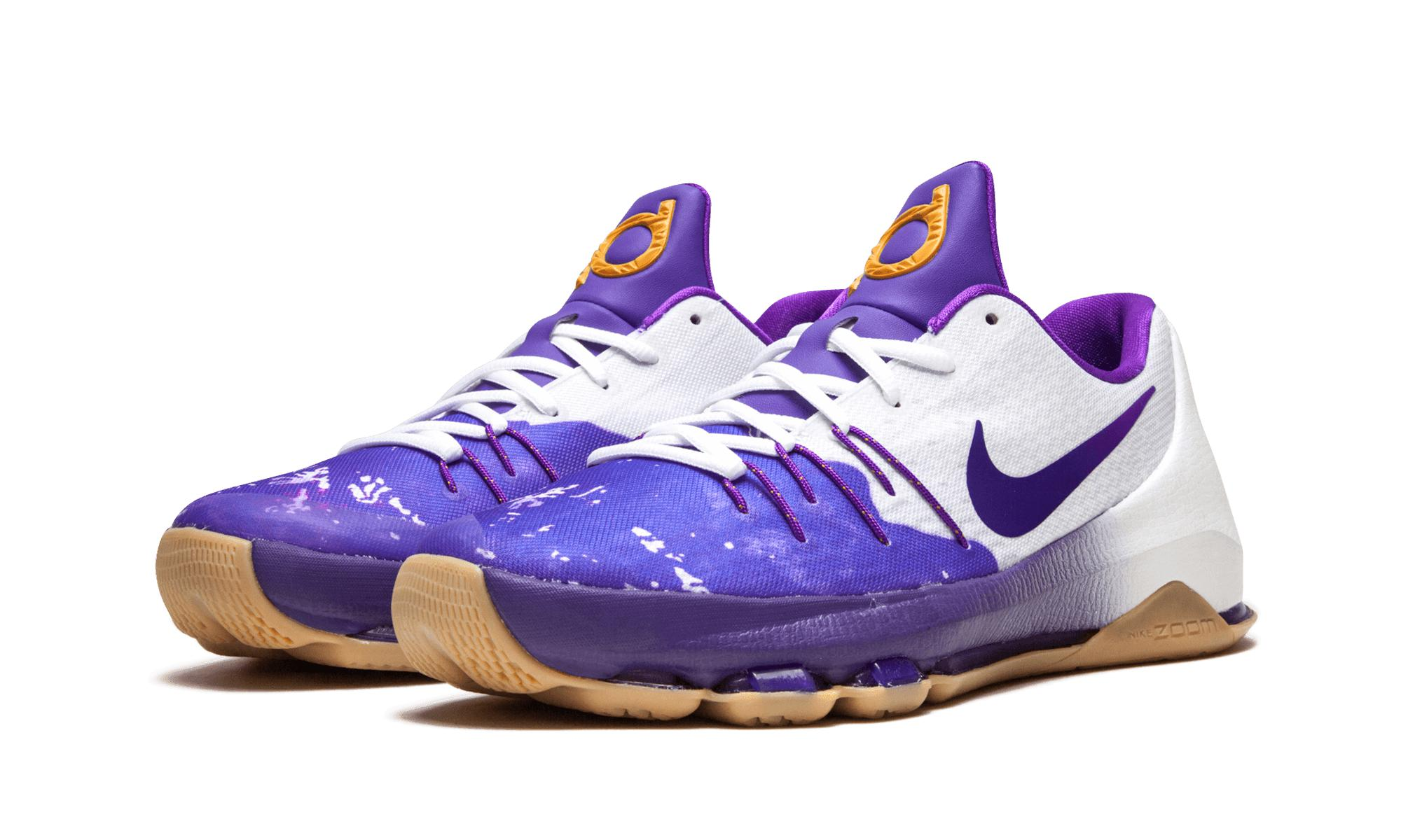 competitive price ca29c 89b47 Nike Kd 8 Qs (gs) in Purple for Men - Lyst