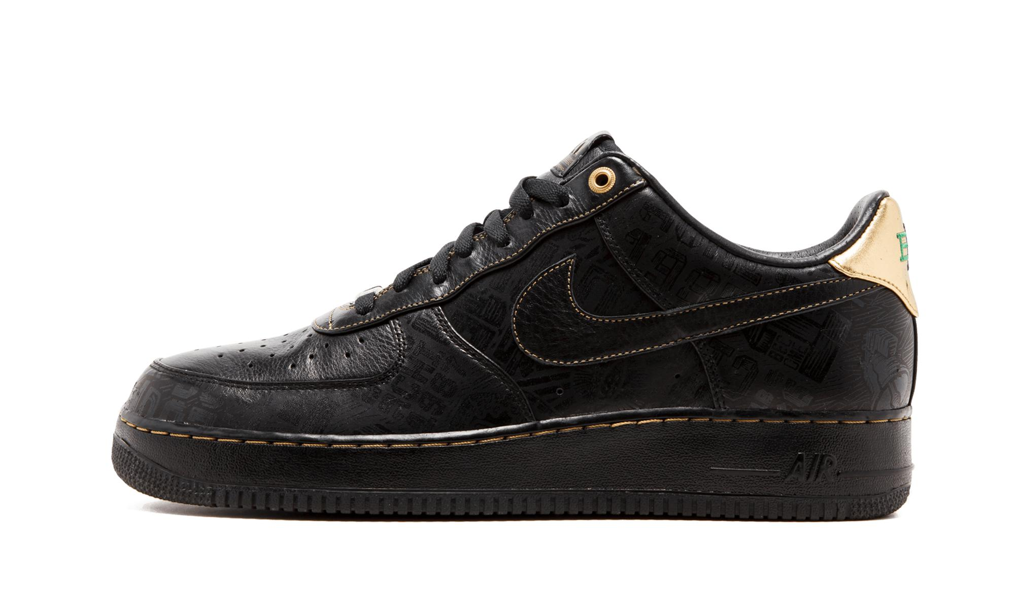 huge selection of 89ea8 6e58d Nike Air Force 1 Low Prm Bhm in Black for Men - Lyst