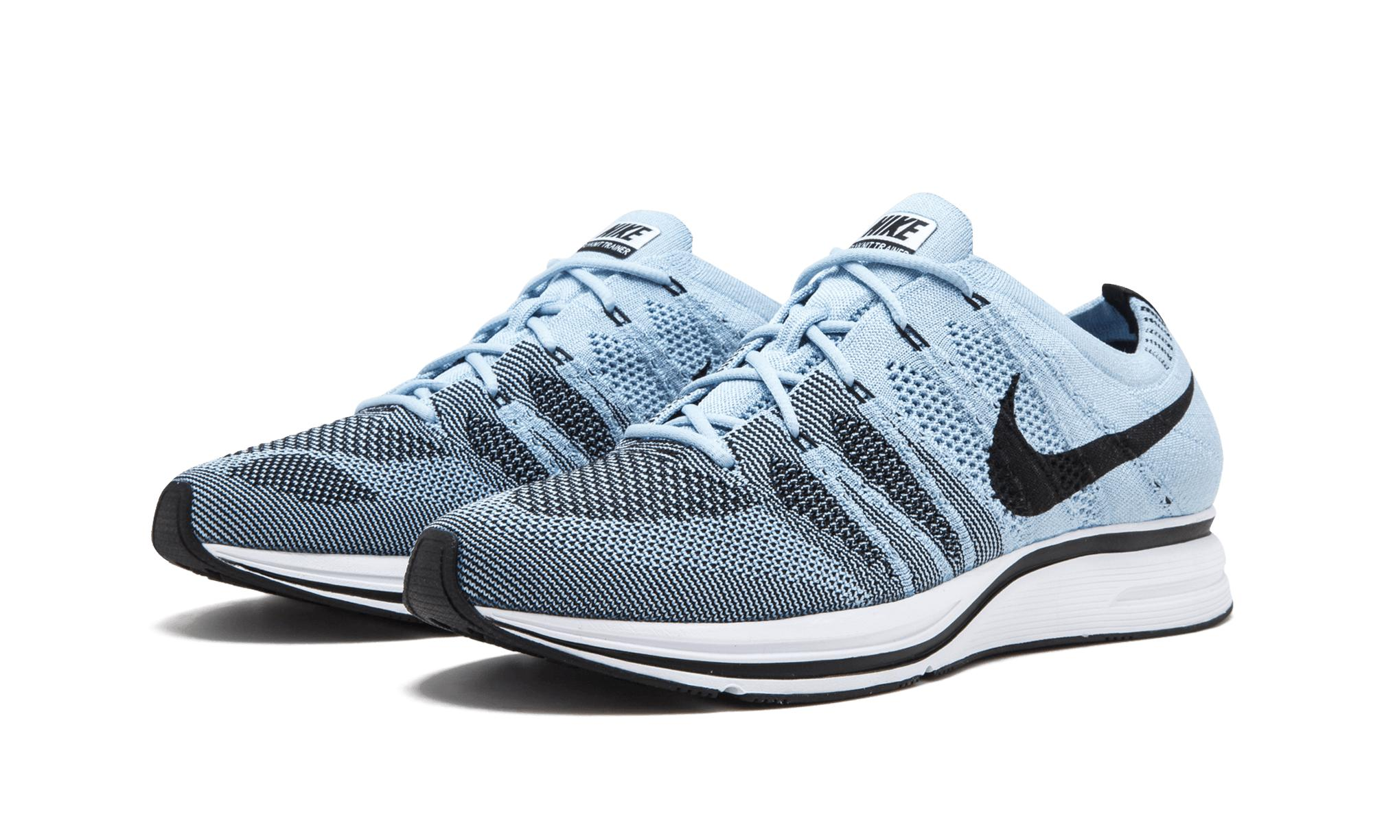 5ff086866cc86 Lyst - Nike Flyknit Trainer in Blue for Men - Save 54.54545454545455%