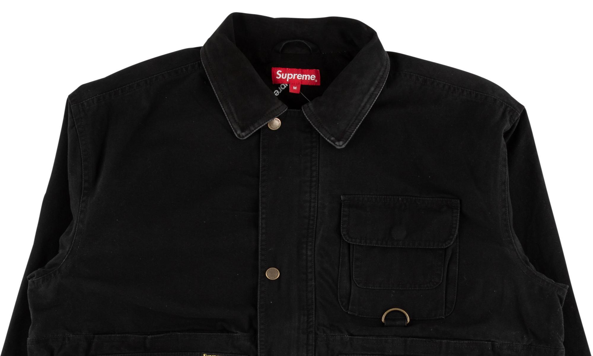 Supreme Field Jacket 'fw 18' In Black For Men - Lyst
