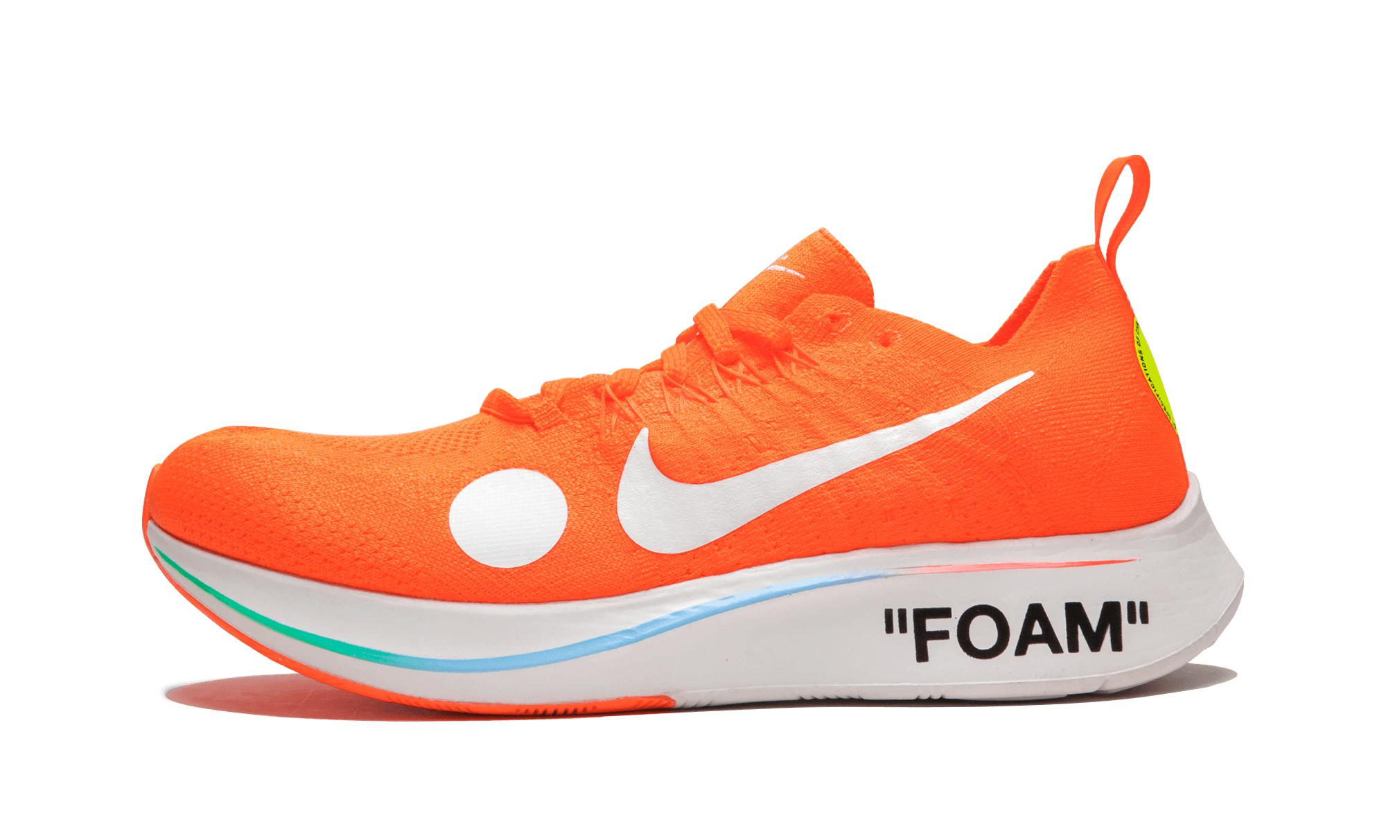 2241741a9 Nike Zoom Fly Mercurial Fk   Ow in Orange for Men - Save 13% - Lyst