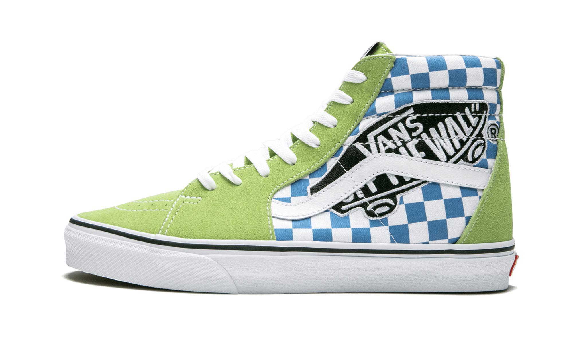 b73ac22f99 Vans Sk8-hi in Green for Men - Lyst