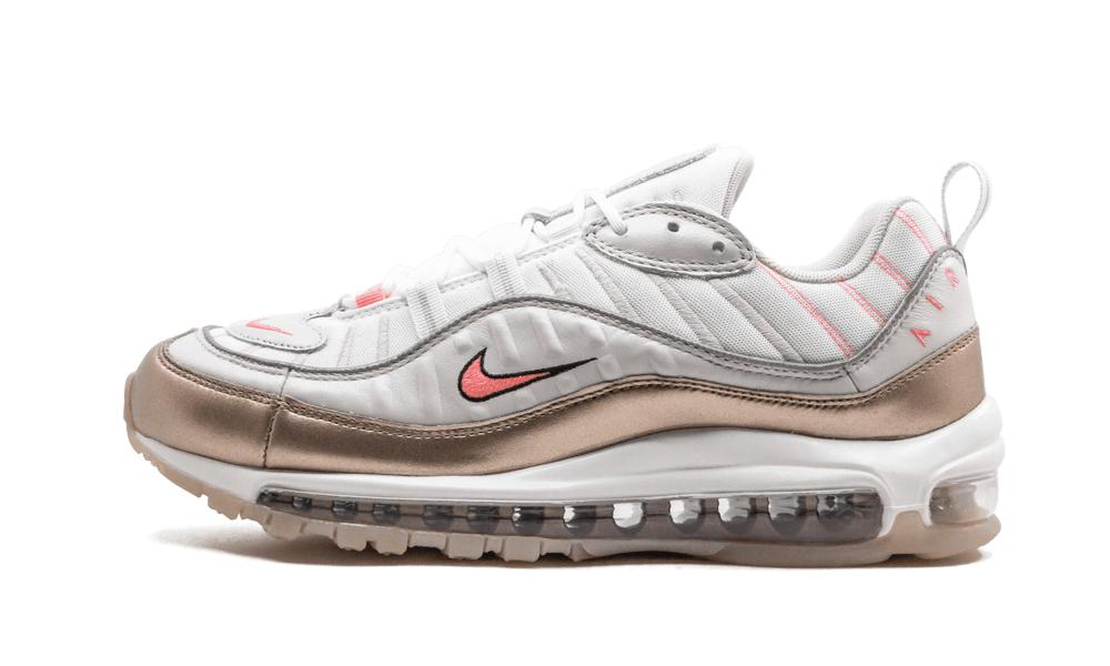 Nike Womens Air Max 98 'rose Gold' Shoes for Men - Lyst